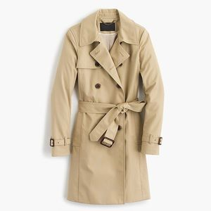 J Crew Icon Trench Coat